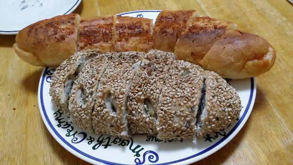 今日のおやつパン