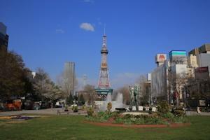 晴天の大通公園