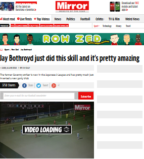 Jay Bothroyd just did this skill and its pretty amazing