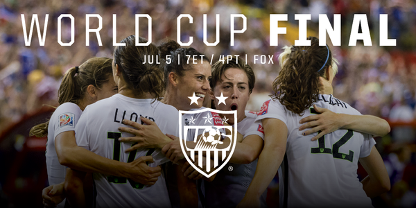The USWNT are back in the FIFAWWC Final