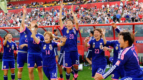 ENG 2-1 in the SF of the FIFAWWC #JPN will play against #USA in the Final
