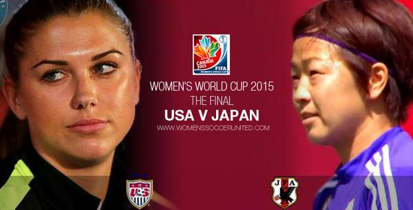 The epic rematch #USA vs #Japan