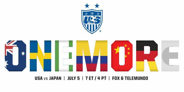 #OneMore #USWNT #SheBelieves