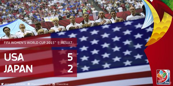 #USA have won the 2015