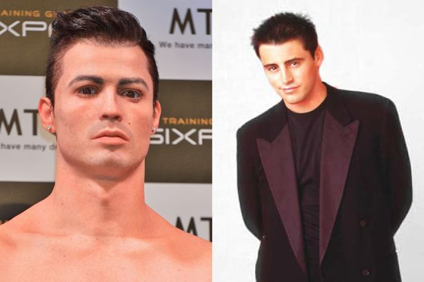 Cristiano Ronaldo meets his body double Joey