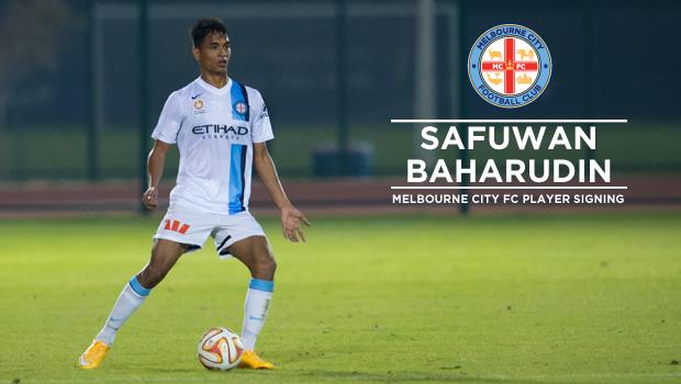 Melbourne City sign Safuwan Baharudin