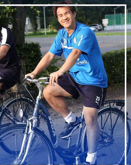 Shinzi Okazaki massive legs
