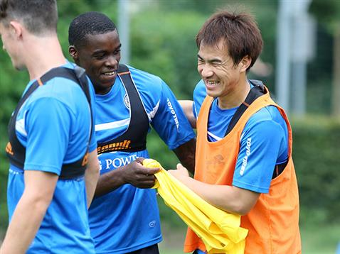 Shinzi Okazaki settles in with his new team