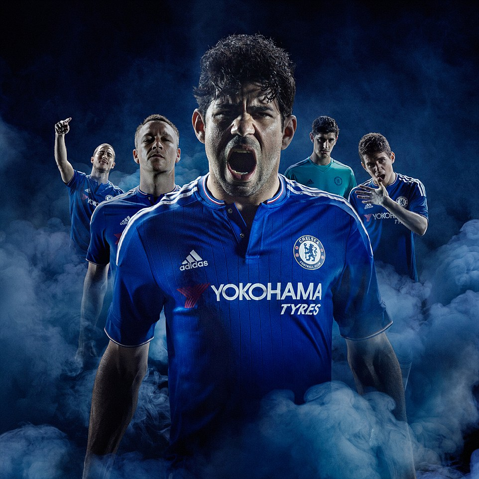 Chelsea reveal their new adidas home kit for the 2015 16 Yokohama Tyres