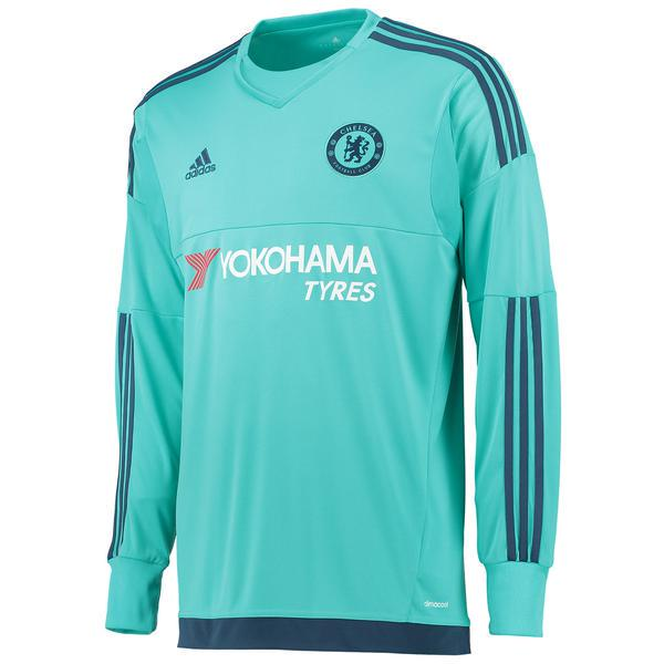 Chelsea adidas home kit for the 2015 16 Yokohama Tyres goal keeper