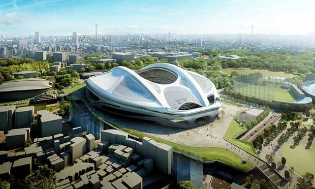 Japan scraps Zaha Hadids Tokyo Olympic stadium design