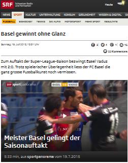 Basel gewinnt ohne Glanz