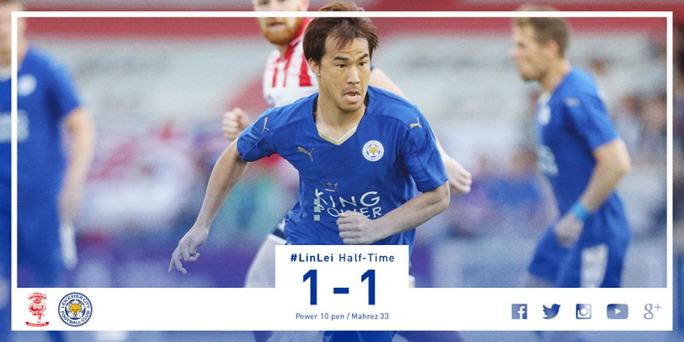 okazaki pre-season opener at Lincoln City