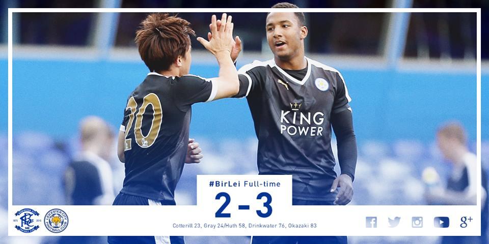 Okazaki goal completes City comeback