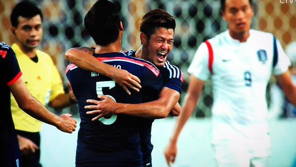 yamaguchi hotaru goal against korea