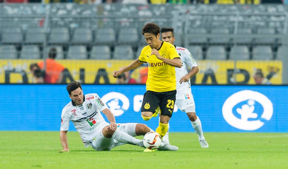 kagawa third round qualifier Dortmund - WAC