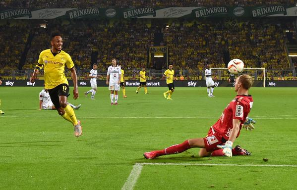 Dortmund outclass WolfsbergerAC to book #UEL play-off spot