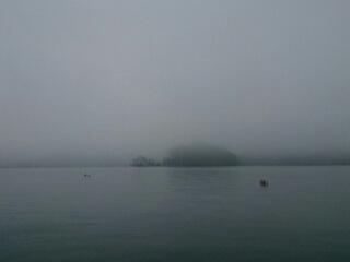 20150709 霧の野尻湖