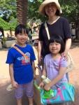 学園ママと妹(薄紫)