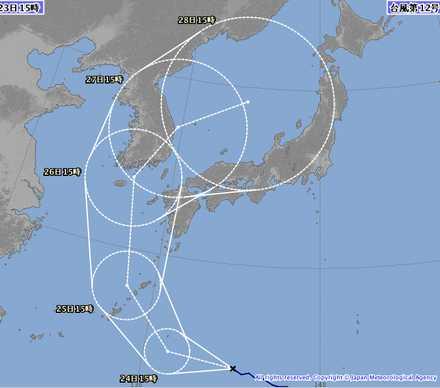 台風12号-3