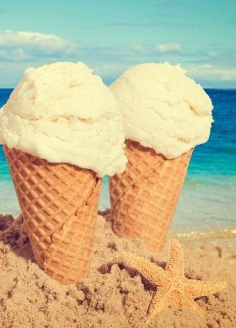 アイスクリーム ペア ジェラート