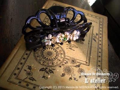 camomille 白菊の髪飾り
