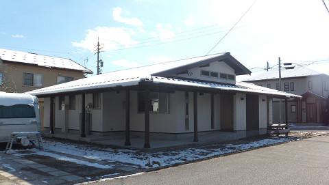 0805大町市「北アルプスの麓・大町の家」外観