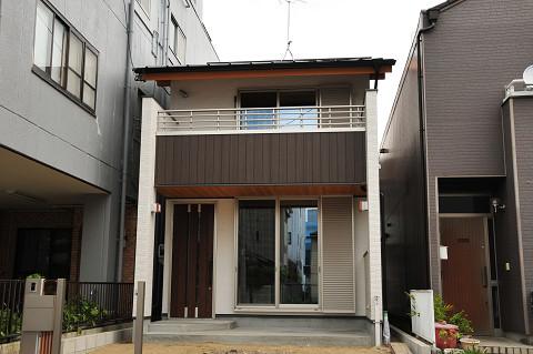 0794名古屋市昭和区「吹上の家」外観