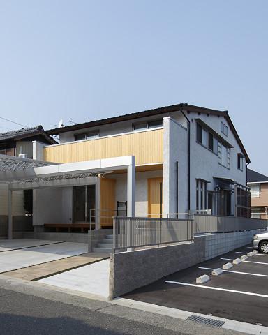 0791名古屋市緑区「木もれ陽の射す家」外観