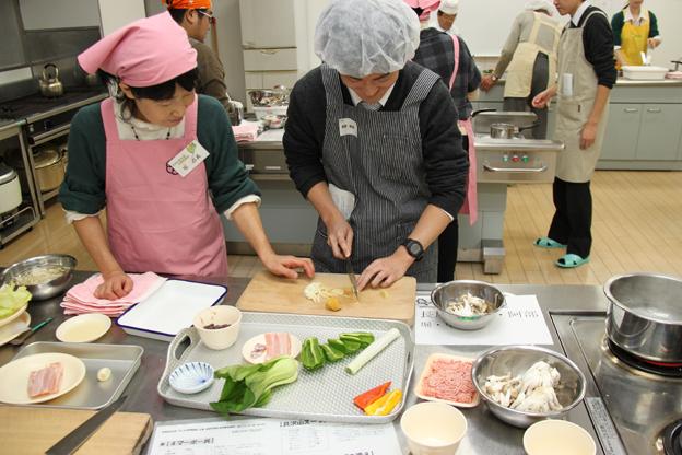 20141121男の料理教室