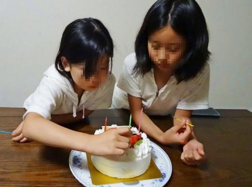 お誕生日ケーキだよ♪