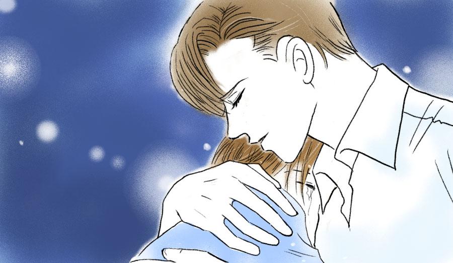 泣く薪さんと鈴木さん
