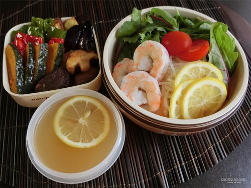 カルディのレモン冷麺弁当01