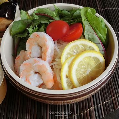 カルディのレモン冷麺弁当03