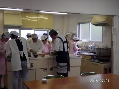 7月料理教室1