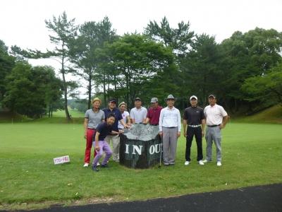 ゴルフ組。