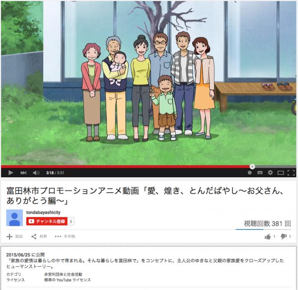 富田林市アニメ