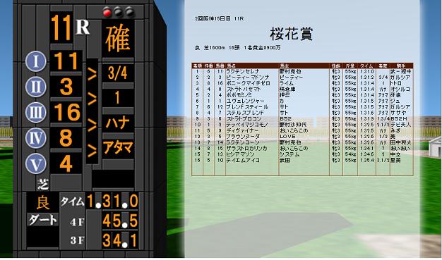 桜花賞73
