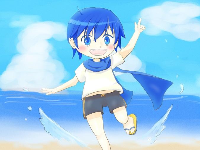 青い空青い海青い兄