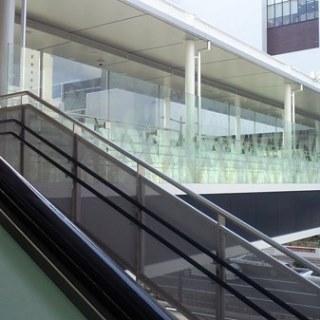 イオンモール岡山 2階からの通路01