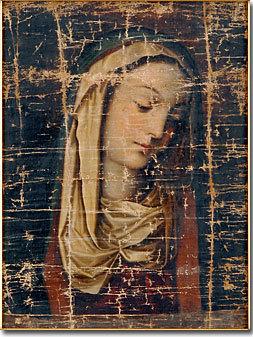 悲しみの聖母画像