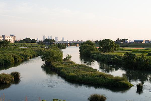 川風景-1