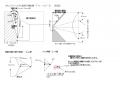 おもしろフワット折り紙機型機の平面図