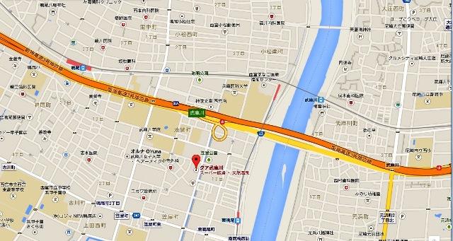 クア武庫川地図