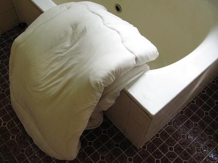 敷布団の洗濯-5 脱水