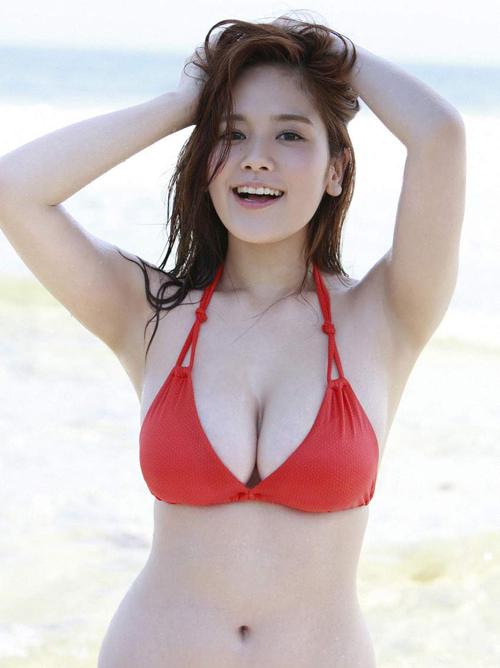 筧美和子(21)の圧倒的爆乳。エロ画像×66
