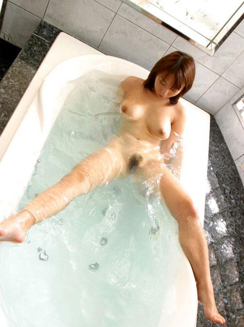お風呂でおっぱいに癒やされたい