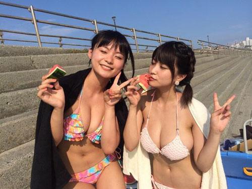 【画像】岸明日香の爆乳Gカップおっぱいが素晴らしすぎる件wwwwwwww