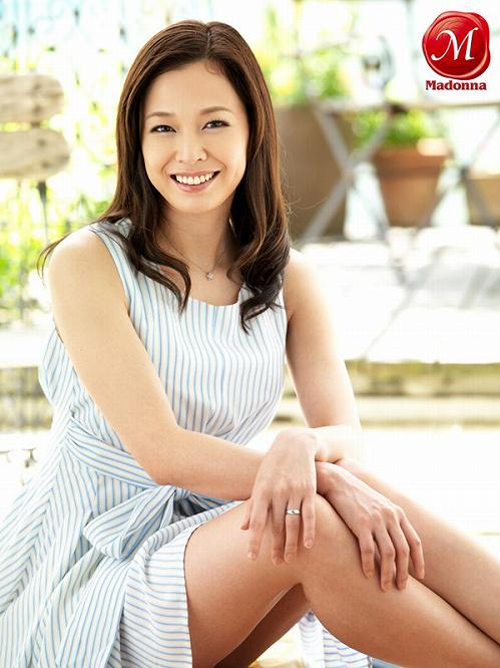 水原梨花 36歳!長身スレンダー美熟女モデルのFカップ巨乳おっぱい画像