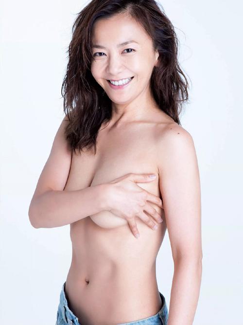 華原朋美40歳 手ブラヌード